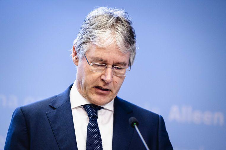 Arie Slob, demissionair minister voor Basis- en Voortgezet Onderwijs. Beeld ANP