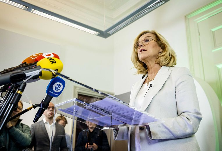 Sigrid Kaag. Beeld ANP