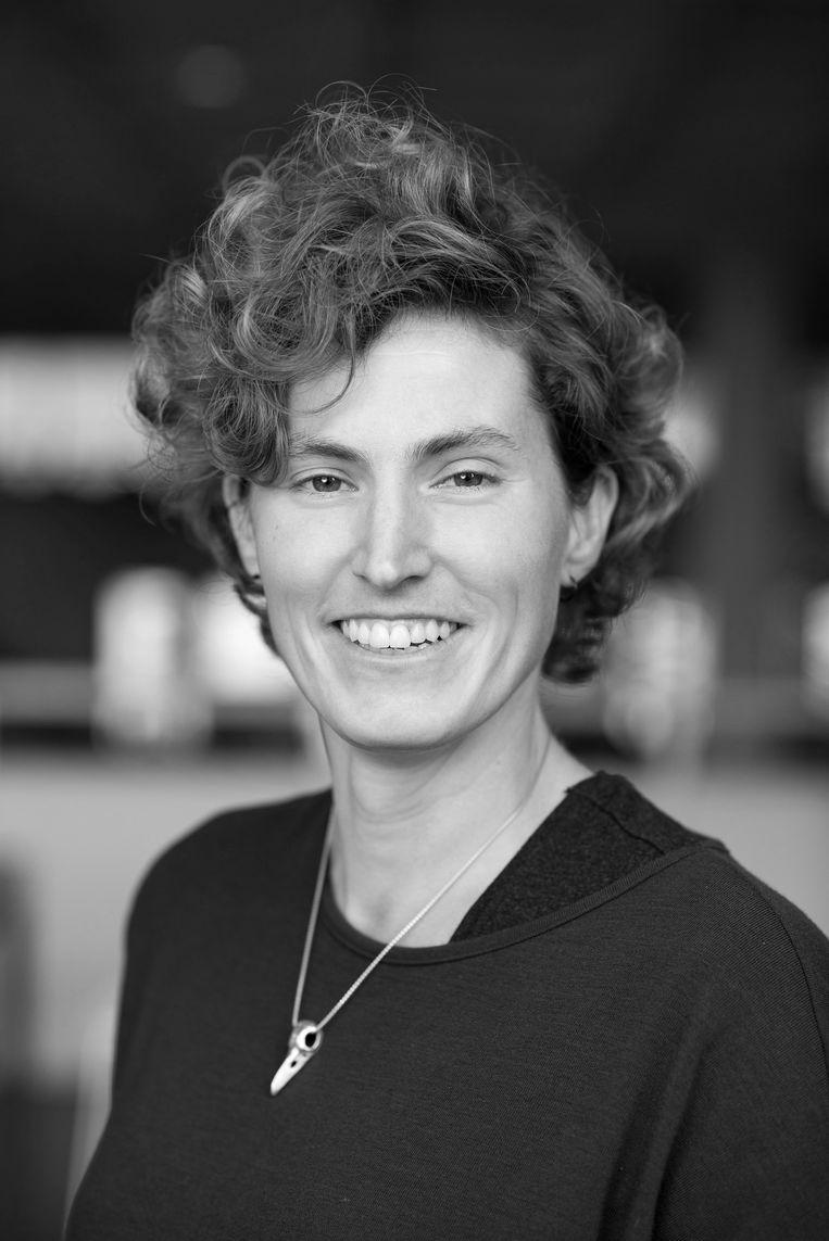 Hanneke Stuit, universitair docent Literary and Cultural Analysis aan de Universiteit van Amsterdam. Beeld Sander Nieuwenhuys