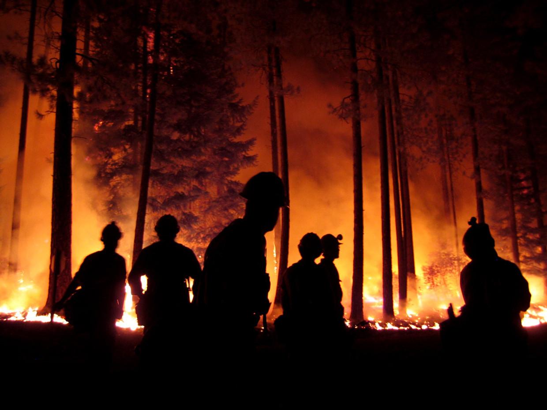 Sisters is één van de vele plekken in de Verenigde Staten waar recent bosbranden woedden Beeld Getty Images
