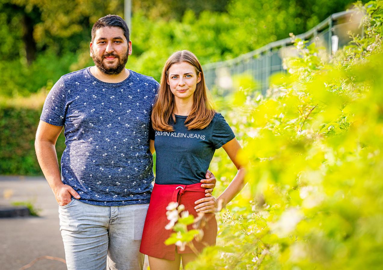Burak Goksal en Melissa Stuurman meldden zich direct aan als burgerhulpverlener.