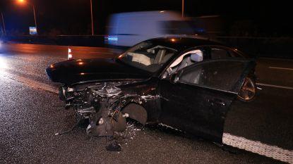 Jonge chauffeur komt heelhuids uit zware crash op E17