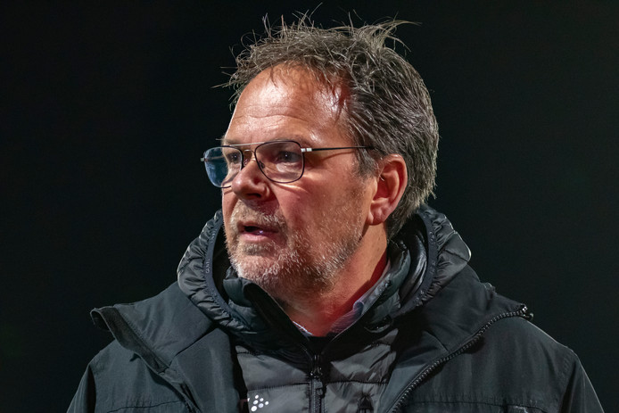 Cambuur-trainer Henk de Jong.