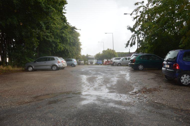 De Mallaardparking lag er voor de heraanleg er niet al te best bij.
