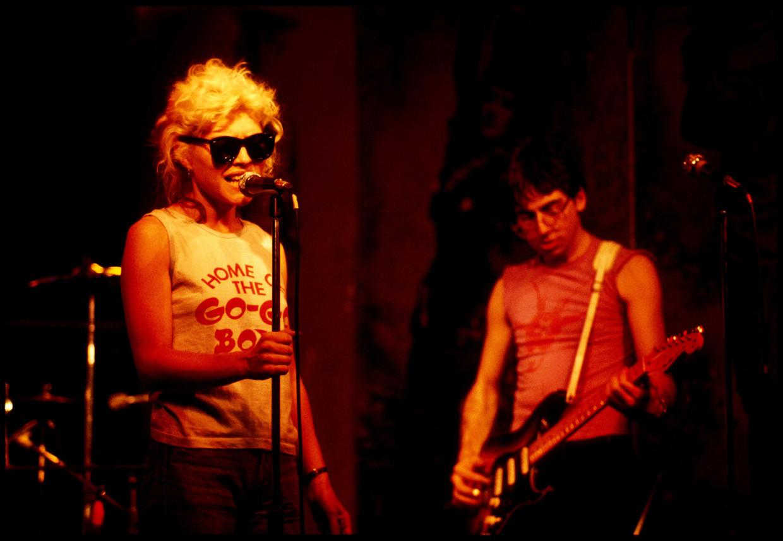 'Heart of Glass' van Blondie, een hit in 1979. Beeld Redferns