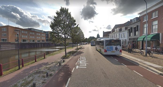 De Turfkaai in Middelburg