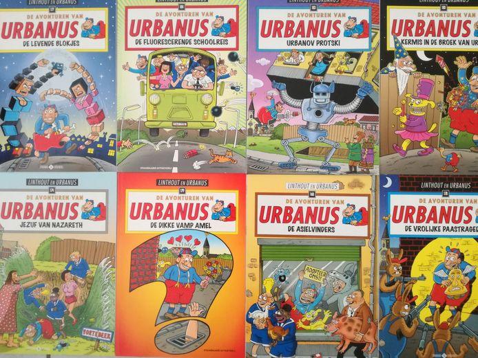 Strips van Urbanus.