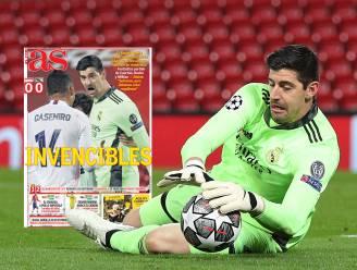 """Ook Spaanse media zagen 'grootse' Courtois tegen Liverpool: """"Hij is onmisbaar voor Real"""""""