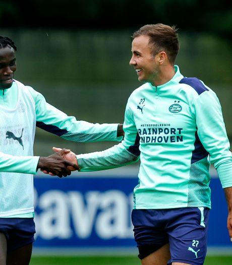 Götze vertrouwt op Schmidt en nieuwe energie bij PSV: 'Niveau van de eerste vier weken moeten we tien maanden volhouden'