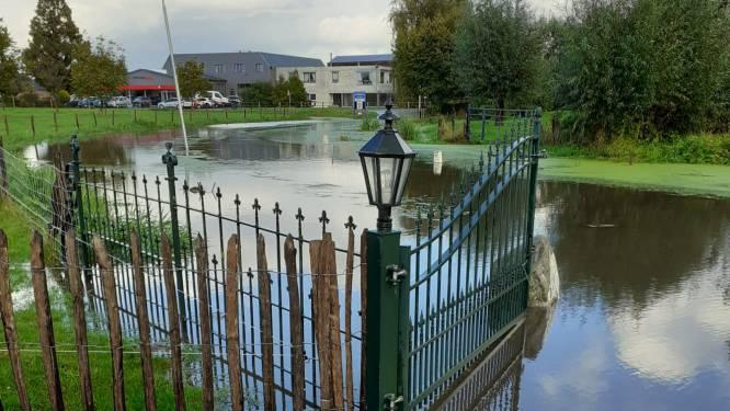 Regenwater stroomt - alweer - Liendense huizen binnen: zorgen over de afwatering in het dorp