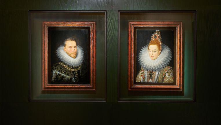 Hendrick De Clerck schilderde vaak overdadige schilderijen van aartshertogen Albrecht en Isabella. Beeld © Dirk pauwels