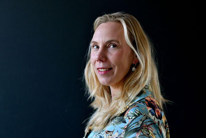 """Femke Nijboer, universitair docent bij de vakgroep Biomedische Signalen en Systemen en onderzoeker bij het Design Lab: """"De onderzoekers hebben goed de waarden en normen uit de reacties van de lezers vertaald in hun ontwerpen""""."""