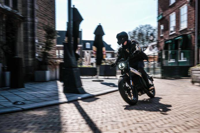 De Brekr in actie in de binnenstad van Doetinchem.
