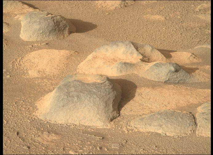 Nog een beeld van de rotsachtige bodem van Mars. De foto werd afgelopen week verkozen tot foto van de week op de website van de NASA.