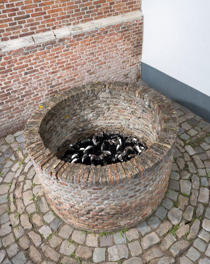 Werk van Jelle Korevaar, te zien op de tentoonstelling 'Hoop', in Oosterhout.