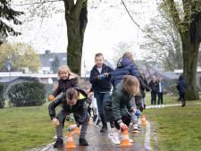 Op zoek naar de kroon van Willem-Alexander in het park binnen je eigen bubbel