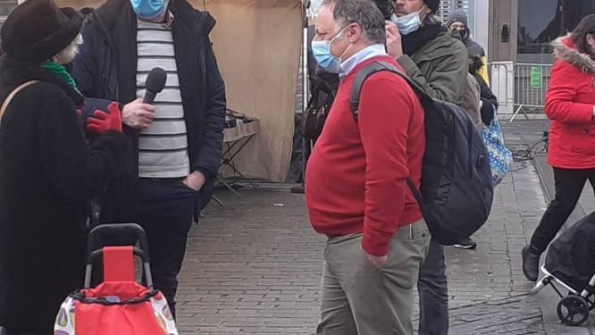 Cameraman krijgt boete van 250 euro, Van Ranst en acteur Sam Louwyck gaan vrijuit voor opmerkelijk bezoek aan Izegemse zaterdagmarkt