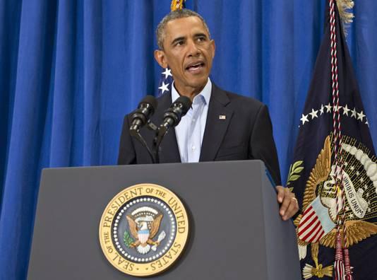 Obama sprak tijdens een persconferentie over James Foley niet over Steven Sotloff. Wel liet de president doorschemeren dat als er 'waar dan ook Amerikanen leed wordt aangedaan, we doen wat mogelijk is om dat te berechten.'