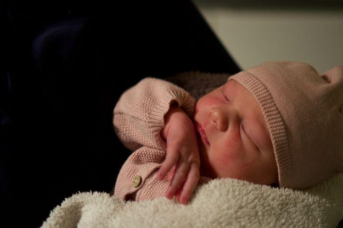 De eerste baby van 2020 in Zoetermeer is Elis Semplonius. Ze is geboren op 1 januari om 04.38 uur.