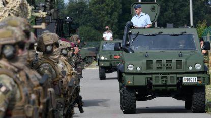 Legervoertuigen hebben scheurtjes in pantser