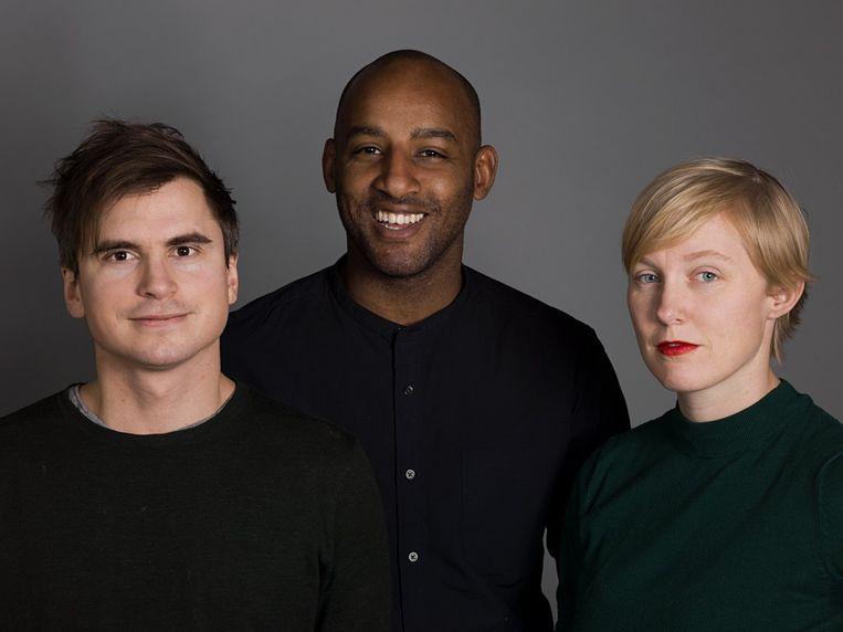 De makers van podcast 'Secrets' (Martin Johnson, Mohamed El Abed en Åsa Seche) Beeld rv