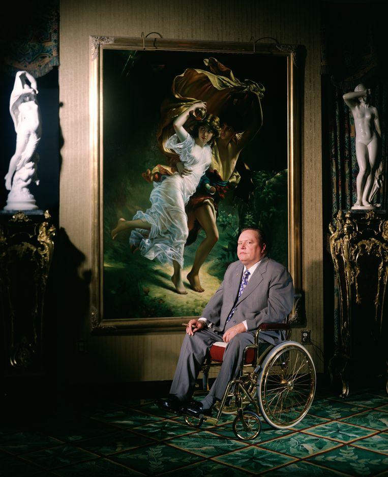 Pornokoning Larry Flynt (1942-2021), 'de smerigste man ter wereld', wist iedereen op de kast te jagen - Volkskrant