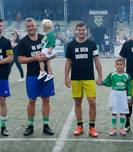 Samen speelden ze bijna 1500 wedstrijden voor Nieuw-Lekkerland, maar nu nemen ze alle vier afscheid