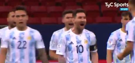 """""""Danse, maintenant, danse!"""": Messi chambre son ex-coéquipier Mina après son penalty raté"""