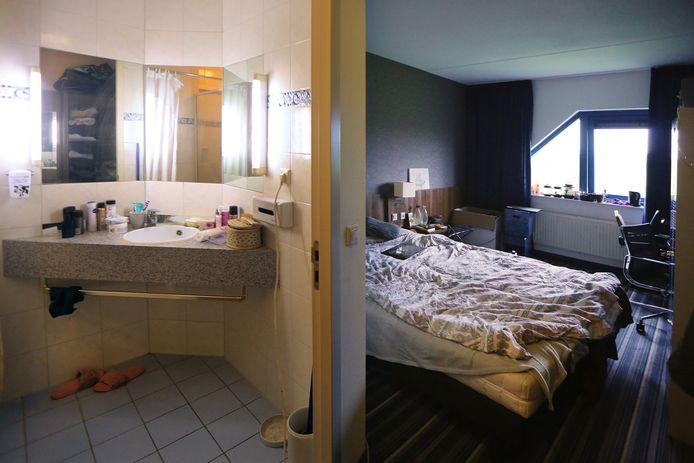 In Hotel Port of Moerdijk zijn arbeidsmigranten uit onder meer Polen, Roemenië en Hongarije gehuisvest.