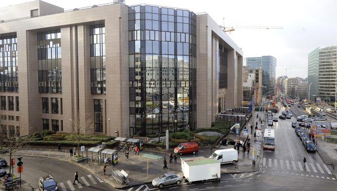 Le siège du Conseil européen à Bruxelles.