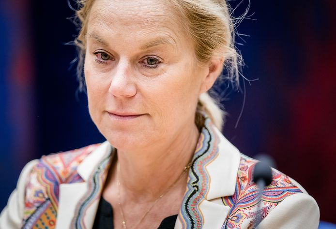 Demissionair minister Sigrid Kaag van Buitenlandse Zaken (D66).
