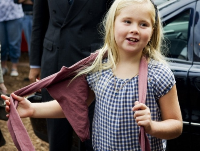 Prinses Amalia Viert 8e Verjaardag Overig Bndestem Nl