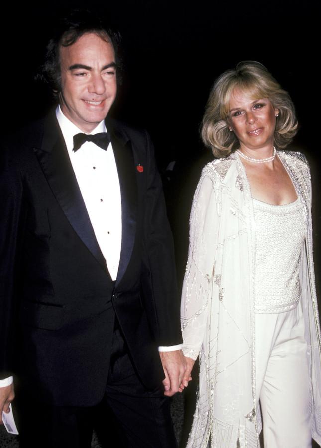 Neil Diamond en Marcia Murphy. Hij liet zijn ex-vrouw zo'n 131 miljoen euro na, de helft van zijn fortuin.