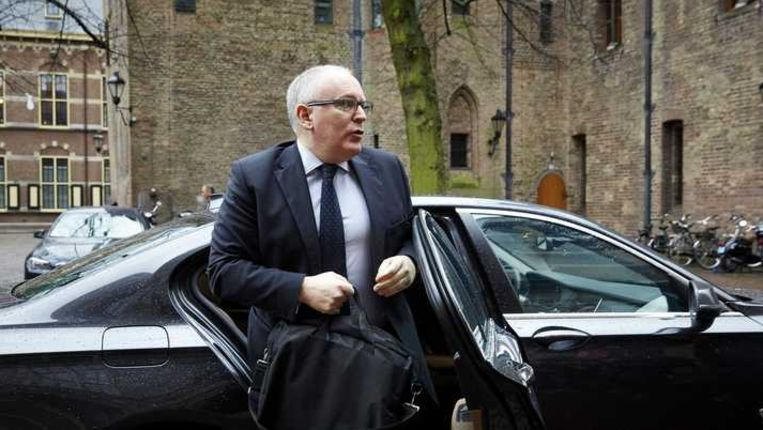 Minister Frans Timmermans van Buitenlandse Zaken. Beeld anp