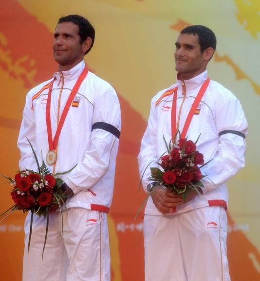 Fernando Echavarri (links).