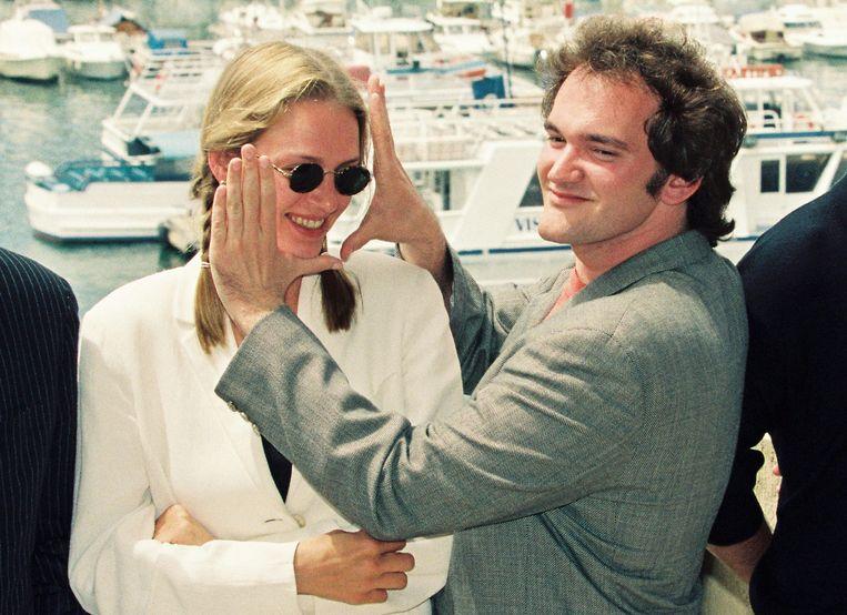 Met Tarantino, 1994. Beeld REUTERS