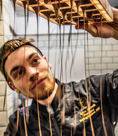 Rode peper en balsamico: Dries Michels (26) kan overal chocola van maken
