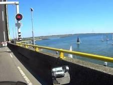 Storing aan Zeelandbrug is verholpen, verkeer kan weer doorrijden