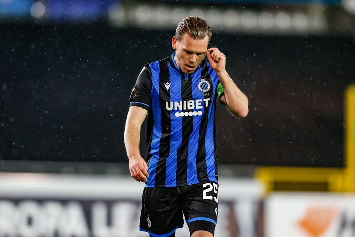Ruud Vormer druipt af na de nederlaag tegen Dynamo Kiev.