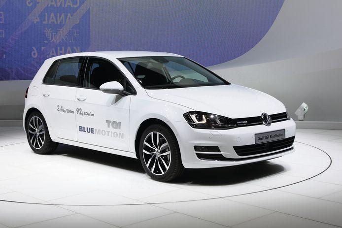 Volkswagen Golf TGI.