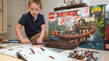 Lego schenkt cadeau van overleden papa aan Vincent (5)