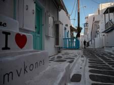 Un couvre-feu à Mykonos, l'île de la fête