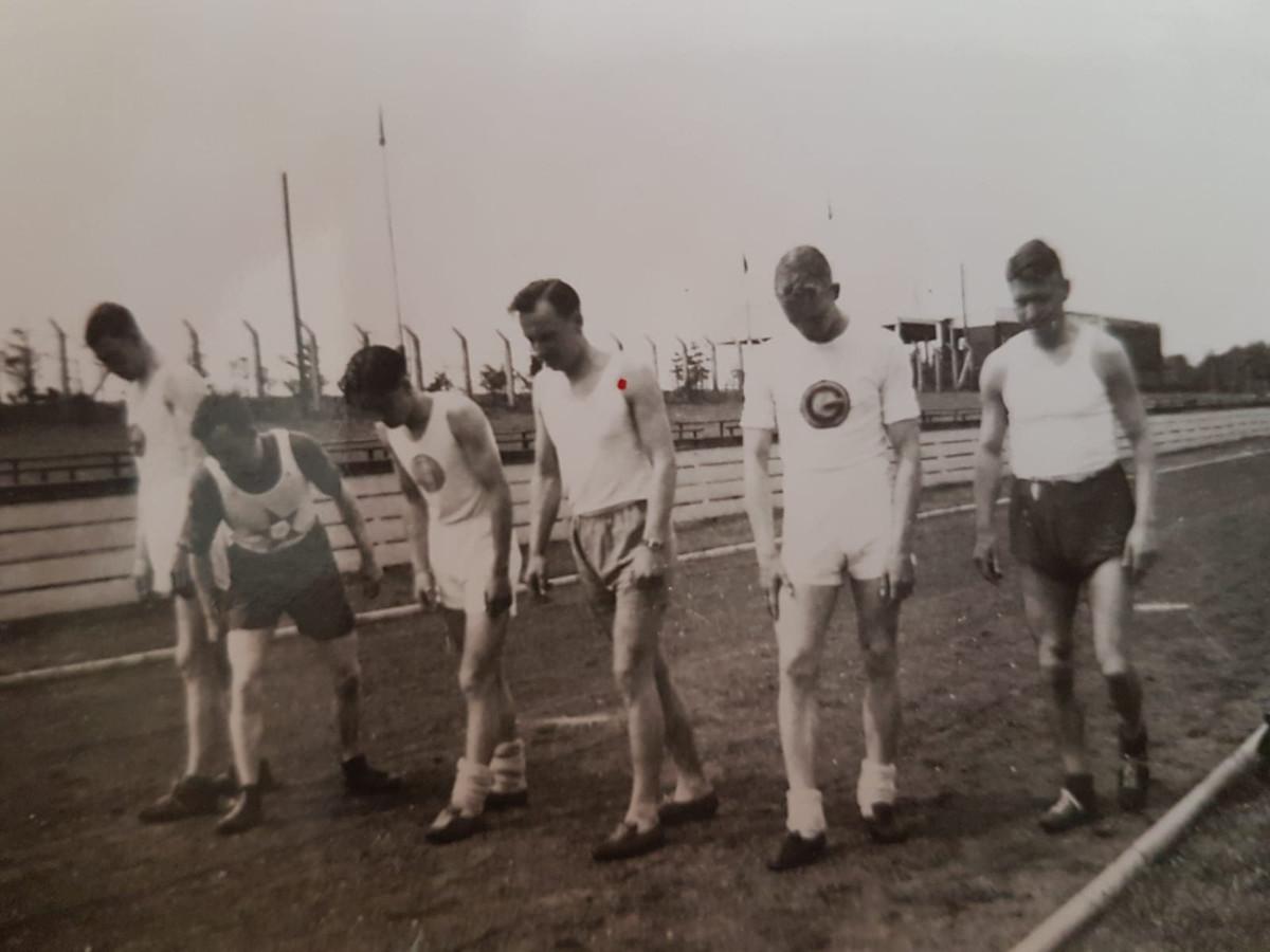 Wim was een goede snelwandelaar.