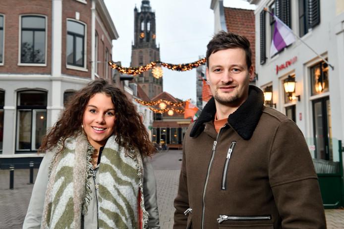 Eva Agelink en Rick Schoen zetten zich volop in voor Sociale Gasten.