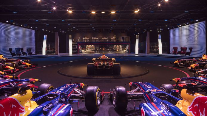 Red Bull museum in Milton Keynes