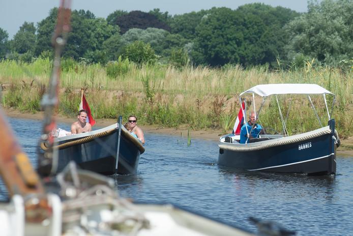 Gemeente Hardenberg hoopt meer vaarrecreanten Gramsbergen in te trekken wanneer er ter hoogte van het stadje een haventje aan de Vecht is. Foto Bert Kamp Reggestreekfotografie