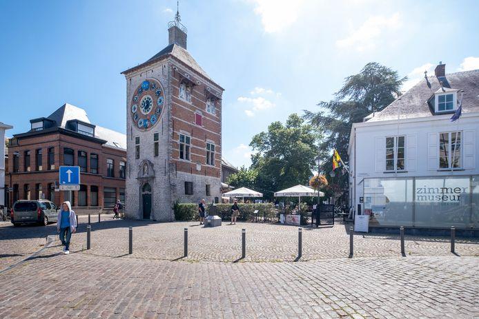 De Zimmertoren is één van Liers belangrijkste toeristische troeven.