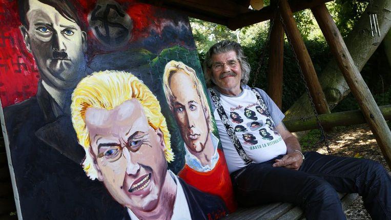 Bennie Jolink Met Dood Bedreigd Om Schilderij Wilders De Volkskrant