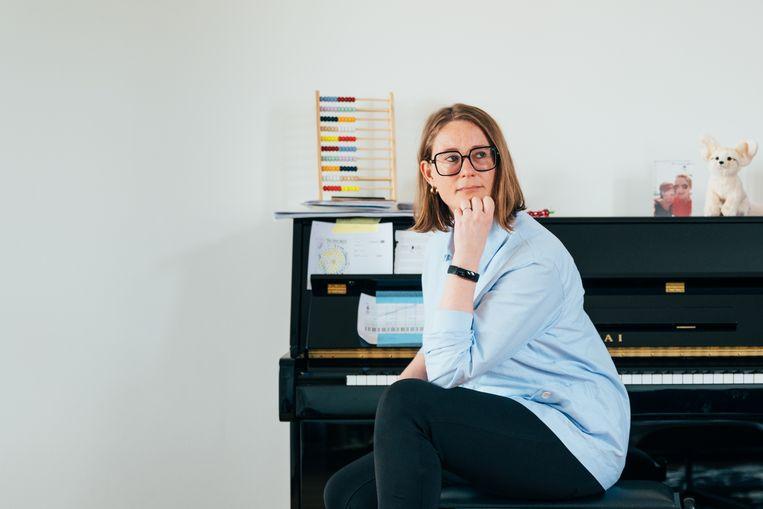 Annelien de Dijn, hoogleraar moderne politieke geschiedenis aan de Universiteit Utrecht. Beeld Rebecca Fertinel