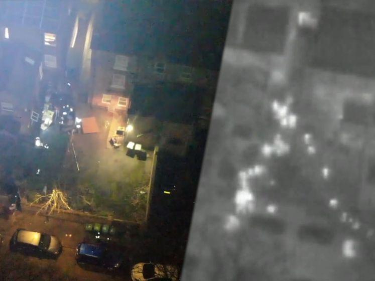 Feestvierders vluchten van lockdownfeest als politie aankomt